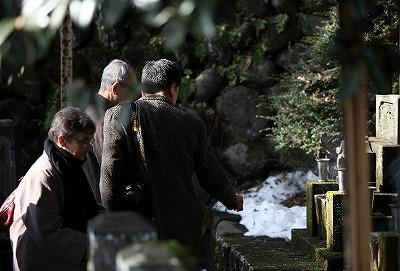 小栗上野介の墓へ