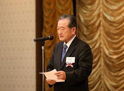 日仏会館鈴木康司副理事長のごあいさつ